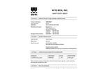 CEMENTGEL Non-Polymer Treated Bentonite - Safety Data Sheet