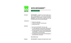 WYO-FOAM 800 Foaming Agent - Brochure