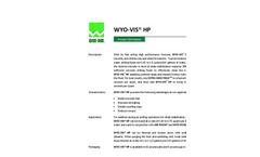 WYO-VIS HP Fast Acting High Performance Formula - Brochure