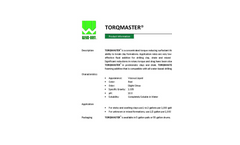 TORQMASTER Concentrated Torque Reducing Surfactant - Brochure