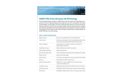 ACQUITY - UPLC Systems with 2D LC Technology Brochure