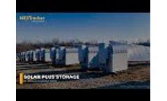 NEXTracker Talks Solar Plus Storage Video