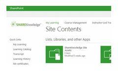 SharePoint - Version LMS - Content Management System