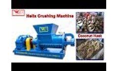 Zhanjiang Weida Machinery ——Helix Crushing Machine Video