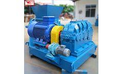 WEIJIN - Model LF250 - Elastomer flexible glue crusher Rubber crushing equipment