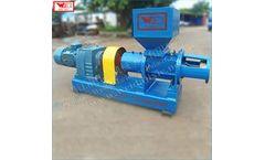 WEIJIN - Model LF300 - Elastomer flexible glue crusher Rubber crushing equipment