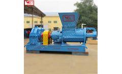 WEIJIN - Model LF600 - Elastomer flexible glue crusher Rubber crushing equipment