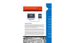 Noventis - Model GDS 100 - Single Channel Controller Brochure