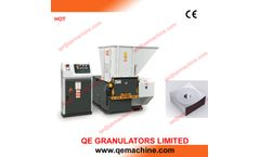 QSS2260 single shaft shredder