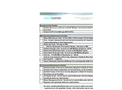 AguaRaider Unit Requirements  Brochure