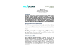 AguaRaider Wastewater Pretreatment Module Evaporation Clean Brine  Brochure