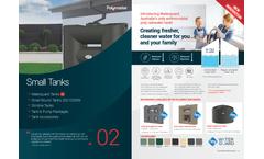 Polymaster - Model 2270ltr Tall - RWT2270T - Rainwater Round Tank Brochure