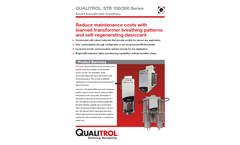 Qualitrol Offshore Xtreme - Model STB-100-1/ 100-2 - Smart Transformer Breather Brochure