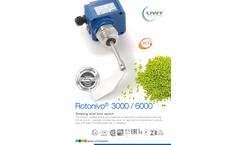 Rotonivo - Model 3000 - Rotary Paddle Level Switch Brochure