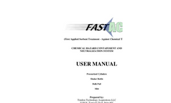 FAST-ACT Chemical hazard containment and neutralization system - User Manual