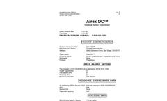 Airex DC - Material Safety Data Sheet