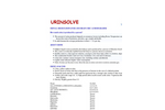 UrinSolve - Urine Odor Eliminator and Uric Acid Degrader for Humans & Animals Datasheet