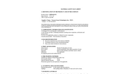 UrinSolve - Urine Odor Eliminator and Uric Acid Degrader for Humans & Animals MSDS