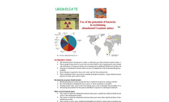 Uremediate Use of the Potential of Bacteria - Brochure