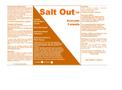 Salt Out - Liquefied Acrylamide Copolymer
