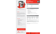 Flamefast - Model CM450 - Safety Tilt Crucible Furnace - Datasheet