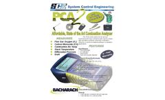 SCE - Model PCA2 - Art Combustion Analyzer - Brochure