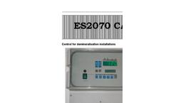 Model ES2070CA - Microprocessor Controller Unit Brochure
