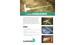 Fluidyne - Floating Decanter - Brochure