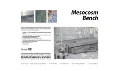 Mesocosm Bench Unit Brochure