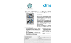 ManTooth - Wireless Digital P/T Gauge Brochure