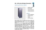 CMC - Model NG Series - Nitrogen-UHP-Generators (PSA) - Datasheet