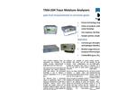 CMC - Model TMA-204 - Trace Moisture Analyzers - Datasheet