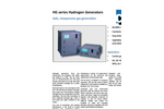 CMC - Model HG series - Hydrogen Gas Generators - Datasheet