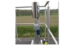 Channel networks solutions for precipitation measurement with GPRS transmission