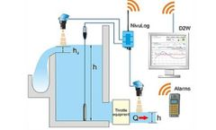 Channel Networks - Stormwater Treatment Facilities for throttle monitoring via GPRS sector