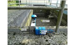 Stormwater Treatment solutions for logging of stormwater overflow tank without mains power sector