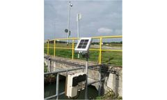 Power-independent flow measurement with GPRS