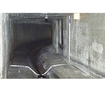 Flow Metering in Channel with Dry Weather Flume - Water and Wastewater