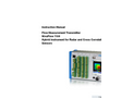 NivuFlow7550 - Hybrid instrument for Radar and Cross Correlation Sensors - Instruction Manual