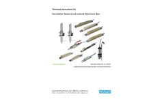 NIVUS - Model DSM - Air-Ultrasonic Level Sensor Brochure