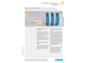 NIVUS - Model BSL0 DP; BSL0 EP; BSL0 SP - Overvoltage Protection Unit Brochure