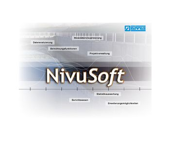 NivuSoft - Version SW0NS - Measurement Data Processing Software