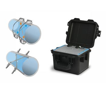 Robust Portable Flow Meter for Long-Term Monitoring of Full Pipes-1