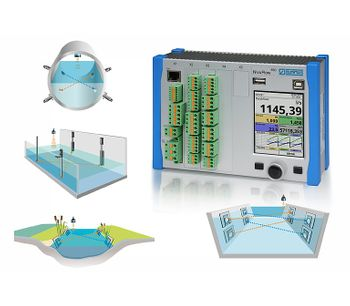 Flow Meter for Pipes, Open Channels and Water Bodies-2