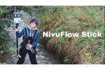 Easy Discharge Measurement with NivuFlow Stick - Video