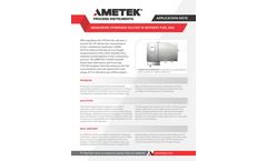 Use of TDLAS Based Analyzers for Real-Time Process Control in Ethylene Oxide Production - Application Notes