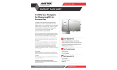 Model 5100 HD Atex Zone 1 H2S in Process Gas Datasheet