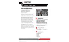 Model 5000 Sample System Datasheet