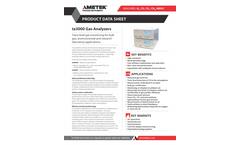 AMETEK PI - Model ta3000 - Gas Analyzers - Datasheet