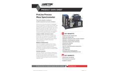 Dycor ProLine Process Mass Spectrometers - Datasheet